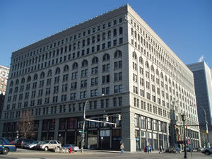 Buffalo District Office in the Ellicott Square Building