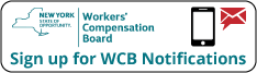 Sign up for WCB Notifications